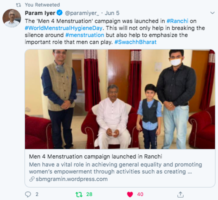 1.7 M4M Launch Param Iyer Tweet
